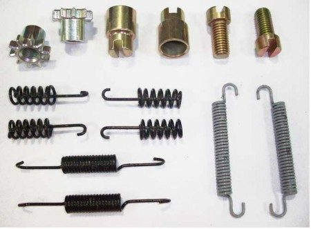 1958 Volkswagen Type 1 Karmann Ghia Brake Drum Hardware Kit