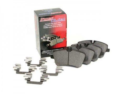 2010 Bentley Continental Posi-Quiet Semi-metallic Brake Pads