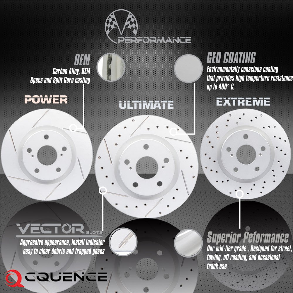 Performance Series Brake Rotors