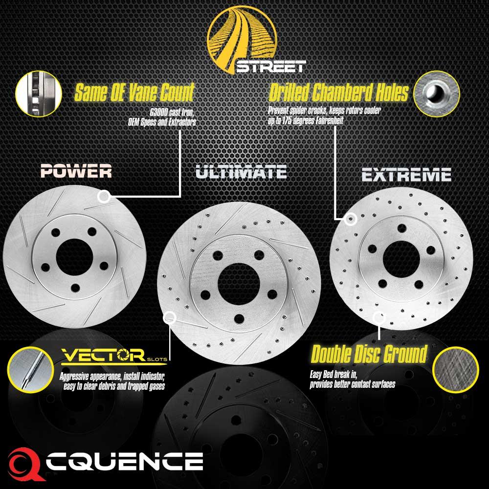 Street Series Brake Rotors